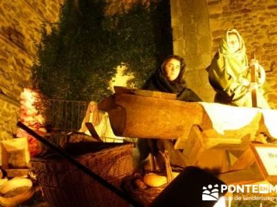 Senderismo Sierra Norte Madrid - Belén Viviente de Buitrago; senderismo extremadura